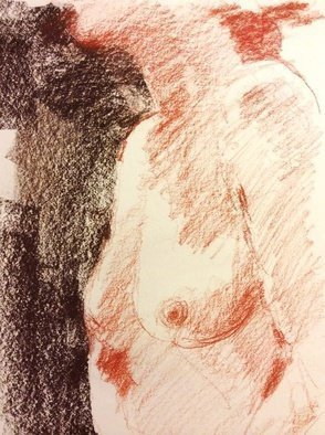 John Tooma: 'Life Drawing Study', 2014 Pastel, Life. Artist Description:      these are some of my latest works on paper from one of the best Life Drawing Groups in Sydney. Glebe Life Drawing Group, Glebe at the
