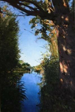 Artist: John Tooma - Title: Vincents Botanic Gardens - Medium: Oil Painting - Year: 2011