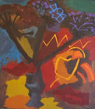 Vitali Vitali: 'autumn still life', 1985 Oil Painting, Expressionism. Artist Description: before the onset of winter cold weather, the aEURoehotaEUR colors are perceived in a special way.Butter. ...