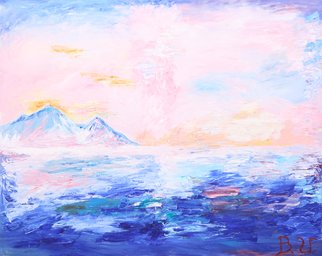 Vitaliy Bilichenko: 'enjoyment of seascape', 2017 Oil Painting, Impressionism. Artist Description: Painting: Oil on Canvas.I like to enjoy the beauty of the sea. I like the simplicity and laconism of the seascape, its optimism.It can not but cause admiration from the viewer, because only here is the tremendous unity of light, air and space. The atmosphere of ...