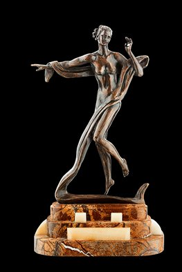 Vyacheslav Vizuri: 'Terpsichore', 2011 Bronze Sculpture, undecided.