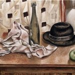 Stii Life With Hat And Bottle, Vladimir Kezerashvili