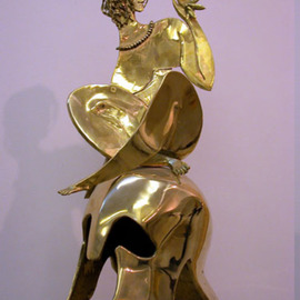Vadim Kirillov Artwork Adam and Eve , 2001 Bronze Sculpture, Life