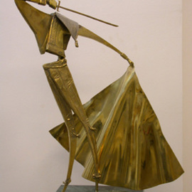 Vadim Kirillov Artwork motodor, 2002 Bronze Sculpture, Dance