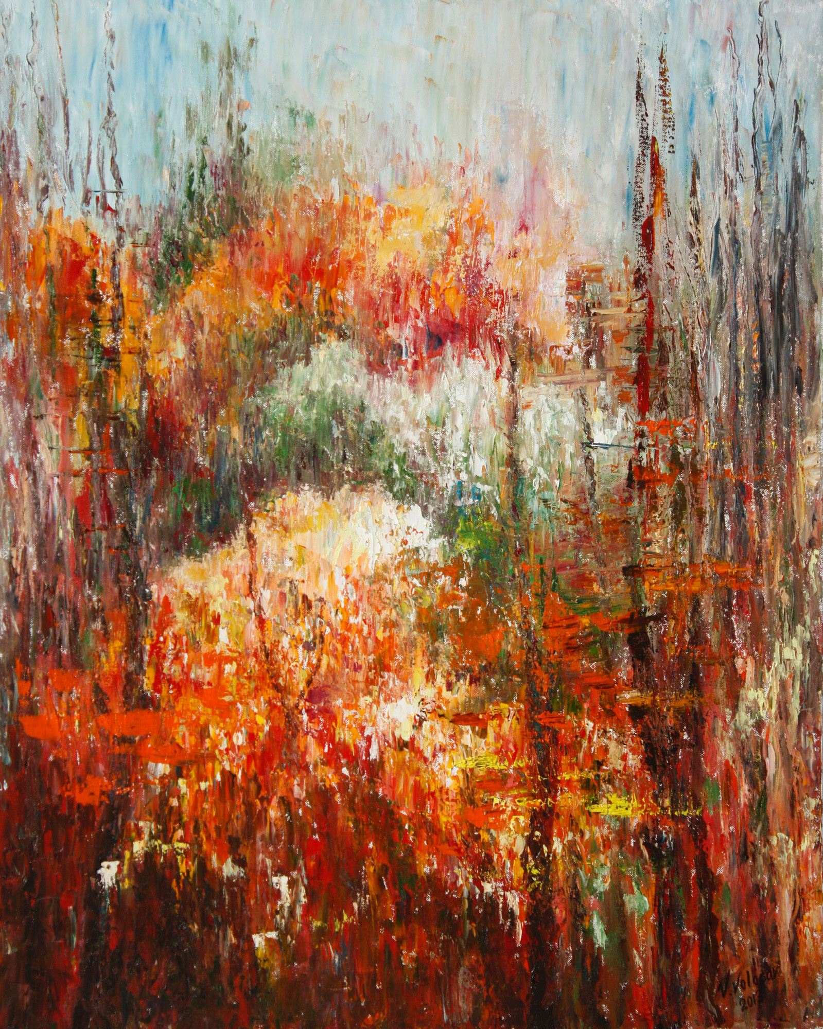 Autumn Forest Taiwan: Vladimir Volosov 'Colors Of Autumn Forest'