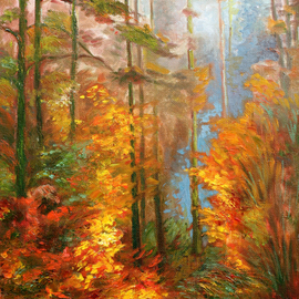 Landscape in Red Colors