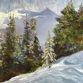 Winter in the Mountains