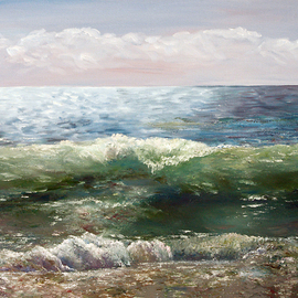 Vladimir Volosov - atlantic ocean, Original Painting Oil