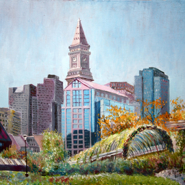 Vladimir Volosov Artwork boston, 2012 Oil Painting, Landscape