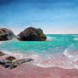 Vladimir Volosov Artwork faraway coasts, 2019