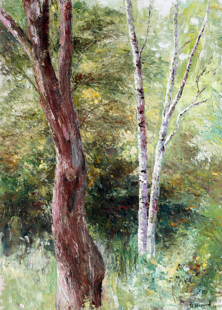 Artist Vladimir Volosov. 'In The Thicket' Artwork Image, Created in 2006, Original Painting Oil. #art #artist