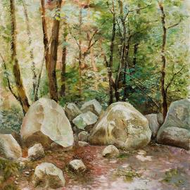 landscape with sunny spots