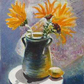 Vladimir Volosov Artwork morning, 2005 Oil Painting, Still Life