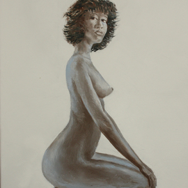 nude girl  By Vladimir Volosov