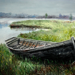 old boat By Vladimir Volosov