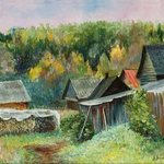 Old Village, Vladimir Volosov