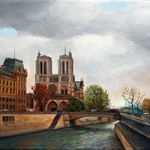 paris on the eve of tragedy By Vladimir Volosov