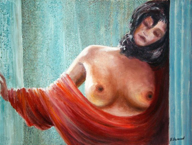 Vladimir Volosov the girl with red cape 2005