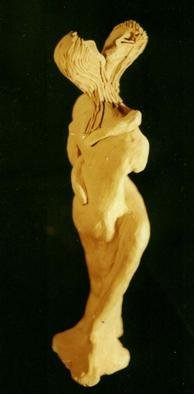 Vojkan Morar  'Love', created in 2001, Original Ceramics Handbuilt.