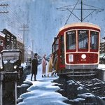 Boarding on St Clair By Dave Rheaume
