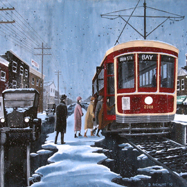 Boarding On St Clair, Dave Rheaume
