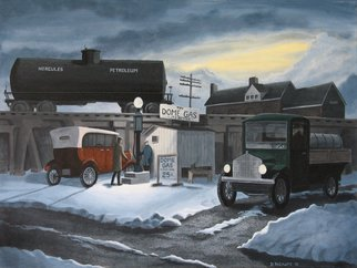 Artist: Dave Rheaume - Title: Dome Gas - Medium: Acrylic Painting - Year: 2010