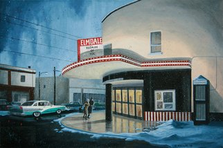 Dave Rheaume: 'The Elmdale', 2010 Acrylic Painting, Vintage.