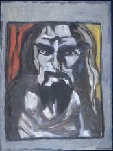 - artwork In_his_rumpled_shirt-1303709252.jpg - 1999, Painting Oil, Figurative
