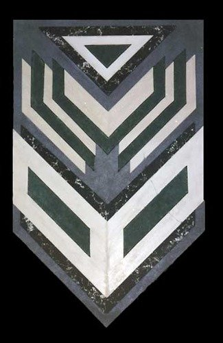 Vicki Place: 'etched in stone', 2007 Assemblage, Abstract Landscape. Artist Description: wall hanging in Mixed Media ...