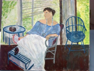 Artist: Vincent Sferrino - Title: Afternoon Respite - Medium: Acrylic Painting - Year: 2013