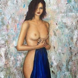 Victoria Vlady Artwork loft, 2016 Oil Painting, Nudes