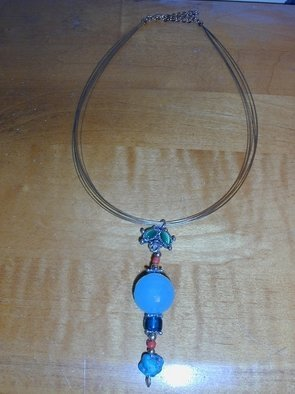 Randall Fox Artwork Nikki Necklace, 2009 Jewelry, Activism