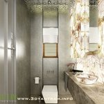 3d Bathroom Interior Rendering Design Usa, Ruturaj Desai