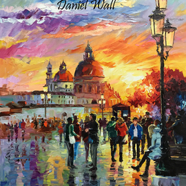 Daniel Wall: 'Catch Sight of Venice', 2016 Oil Painting, Landscape. Artist Description:                            Naples Italy, Snowy Lake, Snow, Lake, waterfront, beach house, Portofino waterfront summer, Portofino Harbor, Italy Harbor, Italy Portofino. Italy Portaofino Sunset. Italian Sunny Day summer. Harbor morning, Harbor sunset, World famous artist painting. We Love Minnesota, Snow sunset. Canada sunset. Snowy Winter sunset. Amsterdam, Italy. Daniel Wall. Rainy ...