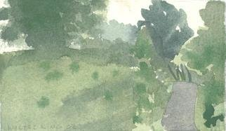 Artist: Walter King - Title: Alans Field - Medium: Watercolor - Year: 2006