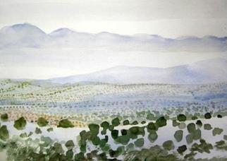 Artist: Walter King - Title: Jemanez Mountains  near Taos NM - Medium: Watercolor - Year: 2012