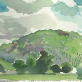 Near Grasmere Lake In Northern England, Walter King