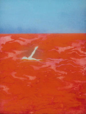 Walter King Artwork Red Sea, 2000 Other Painting, Abstract Landscape