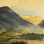 The Highlands Near Appin In Argyle, Walter King