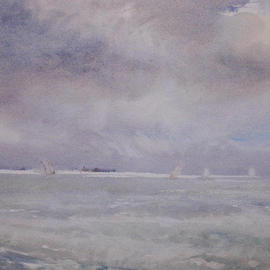 English Channel By Walter E Westbrook
