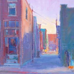 , Alley Way, Cityscape, $420