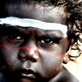 Wayne Quilliam: 'Garma ', 2008 Black and White Photograph, Culture. Artist Description:  Wayne Quilliam from Garma ...