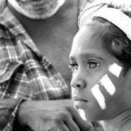 Wayne Quilliam: 'Laura Festival Traditional Painting', 2004 Black and White Photograph, Culture.