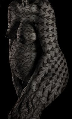 Wayne Quilliam: 'Lowanna', 2016 Digital Photograph, nudes.  Photographic art by Australian Aboriginal photographer A. Professor Wayne Quilliam. www. waynequilliam. com www. aboriginal. photography ...