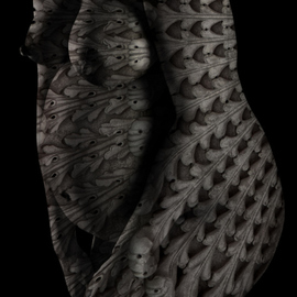Wayne Quilliam: 'Lowanna', 2016 Digital Photograph, nudes. Artist Description:  Photographic art by Australian Aboriginal photographer A. Professor Wayne Quilliam. www. waynequilliam. com www. aboriginal. photography ...