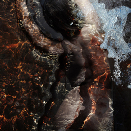 Wayne Quilliam: 'Water Nymph', 2011 Other Photography, Indiginous.