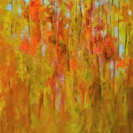 Wayne Wilcox Artwork Autumn1, 2016 Acrylic Painting, Abstract