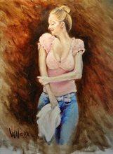 - artwork Beale_Street_Barmaid_Study-1298763460.jpg - 2011, Painting Oil, Figurative