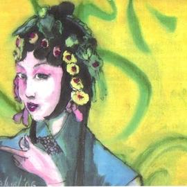 Chinese Opera Woman Singer