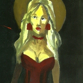 Contemporary Madonna  By Harry Weisburd